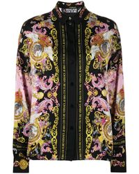 Versace Jeans Couture バロック シャツ - ブラック