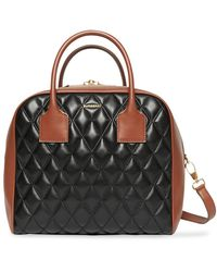 Burberry Borsa Cube media - Nero