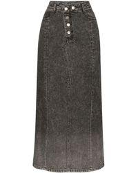 SJYP デニムスカート - ブラック