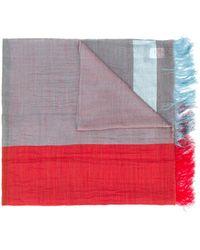 Y's Yohji Yamamoto - カラーブロック スカーフ - Lyst