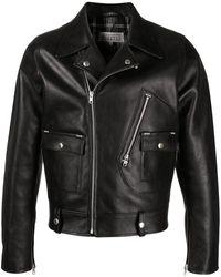 Maison Margiela Куртка С Заостренными Лацканами - Черный