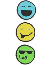 Natasha Zinko Smile Pin Set - Yellow