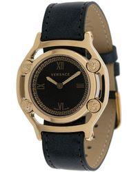 Versace メデューサ 腕時計 - ブラック