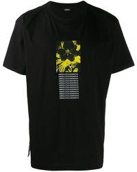 DIESEL T-wallace-y Tシャツ - ブラック