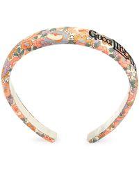 Gucci Ободок Из Коллаборации С Liberty London - Металлик