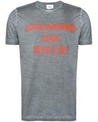 Dondup - Print T-shirt - Lyst
