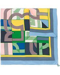 Tory Burch グラフィック スカーフ - マルチカラー