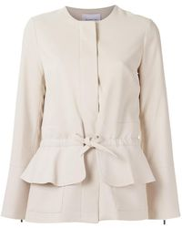 Olympiah - Lace Up Jacket - Lyst