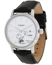 Timex X Peanuts Marlin 40mm - Black