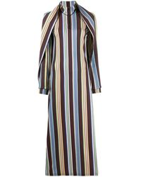 Y. Project ストライプ ドレス - ブラウン