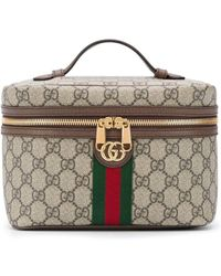 Gucci Косметичка С Логотипом GG - Коричневый
