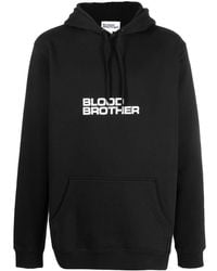 Blood Brother ロゴ パーカー - ブラック