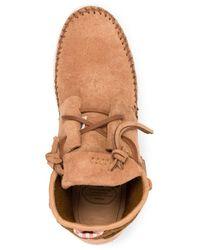 Visvim Ute Moc Sneaker Hi-folk Sneakers - Brown