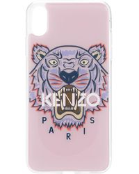 KENZO 'Tiger' iPhone XS Max-Hülle - Pink