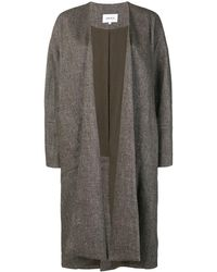 Enfold Oversized Fit Coat - Gray