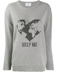 Alberta Ferretti Help Me セーター - グレー