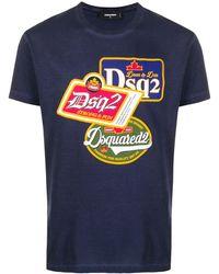 DSquared² T-shirt Dsq2 - Blu