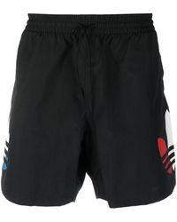 adidas Шорты С Логотипом - Черный