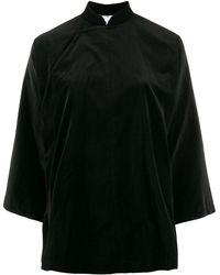 Comme des Garçons マンダリンカラー シャツ - ブラック