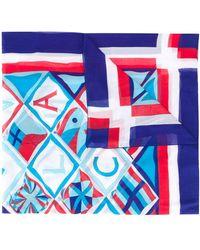 Hermès Pre-owned Sjaal Met Print - Wit