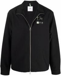 OAMC ジップアップ ライトジャケット - ブラック