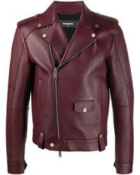 DSquared² Байкерская Куртка - Многоцветный