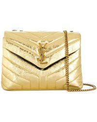 Saint Laurent - Lou Lou Quilted Shoulder Bag - Lyst