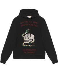Gucci - Embroidered Sweatshirt - Lyst
