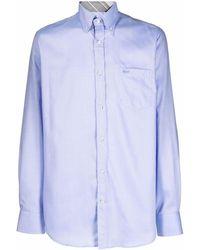 Paul & Shark コットンシャツ - ブルー