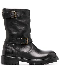 Dolce & Gabbana Ботинки Horseride - Черный