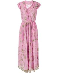 Ashish 刺繍ディテール ドレス - ピンク
