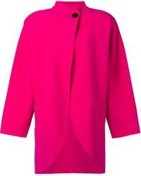 Marc Jacobs Cocoon Coat - Pink