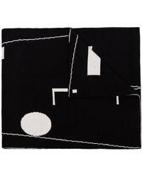 A_COLD_WALL* Modern Logo Scarf - Black