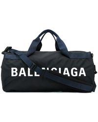 Balenciaga Wheel Gym Bag - Black