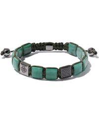 Shamballa Jewels Bracelet de perles - Vert