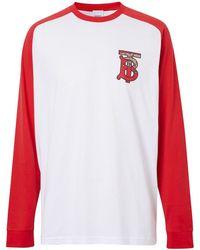 Burberry モノグラム Tシャツ - ホワイト