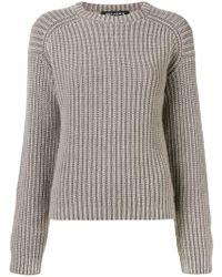 Iris Von Arnim - Ribbed Knit Sweater - Lyst