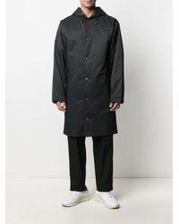 PUMA X Maison Kitsune Hooded Raincoat - Black