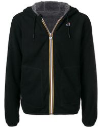 K-Way - Short Hooded Jacket - Lyst