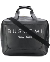 Buscemi - ロゴ ボストンバッグ - Lyst