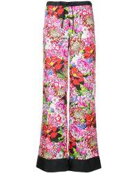 Mary Katrantzou - Floral Print Trousers - Lyst