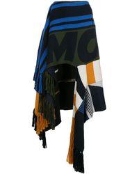 Monse パッチワーク スカート - ブルー