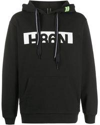Hogan ロゴ パーカー - ブラック
