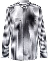 Balmain - Рубашка В Клетку Гингем - Lyst