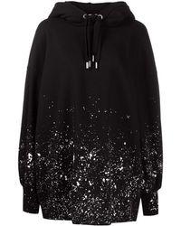 Palm Angels ペイント ロゴ ドレス - ブラック
