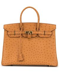 Hermès Pre-owned Birkin 35 Tote - Brown