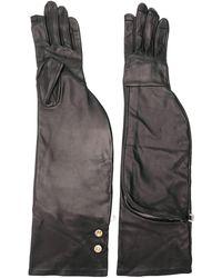 Rick Owens Long Gloves - Black