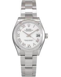 Rolex - Наручные Часы Datejust Pre-owned 2021-го Года - Lyst