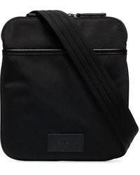 Polo Ralph Lauren Canvas Messenger Bag - Black