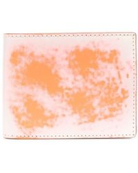 CAMPERLAB Abstract-print Bifold Walet - White